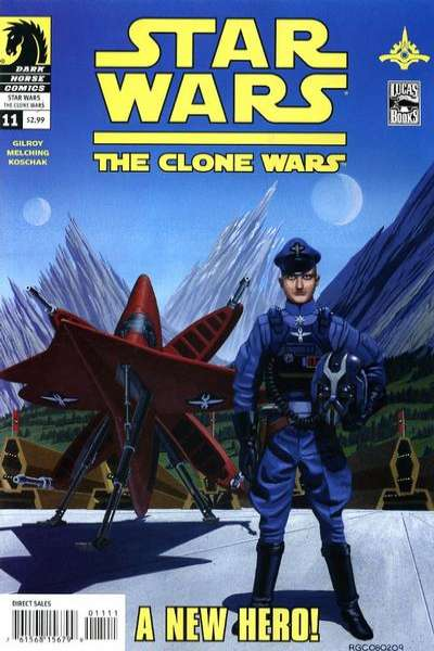 Star Wars: The Clone Wars #11 comic books - cover scans photos Star Wars: The Clone Wars #11 comic books - covers, picture gallery