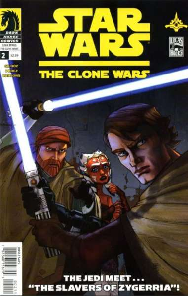 Star Wars: The Clone Wars #2 Comic Books - Covers, Scans, Photos  in Star Wars: The Clone Wars Comic Books - Covers, Scans, Gallery