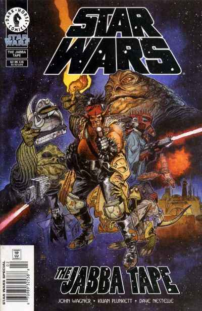 Star Wars: The Jabba Tape comic books