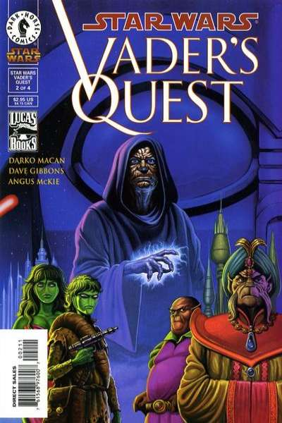Star Wars: Vader's Quest #2 comic books for sale