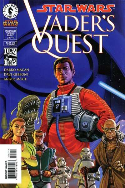 Star Wars: Vader's Quest #3 comic books for sale