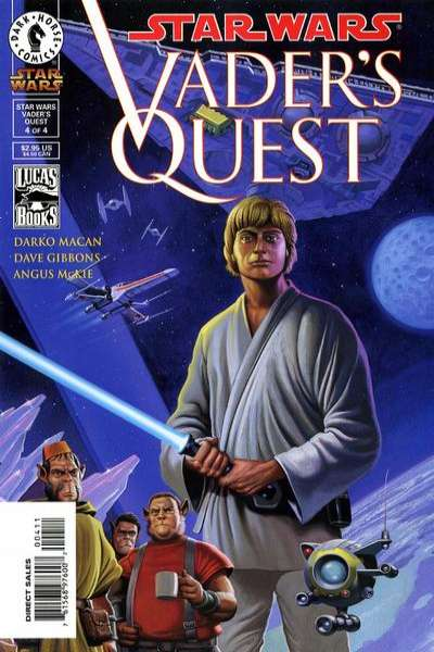 Star Wars: Vader's Quest #4 comic books for sale