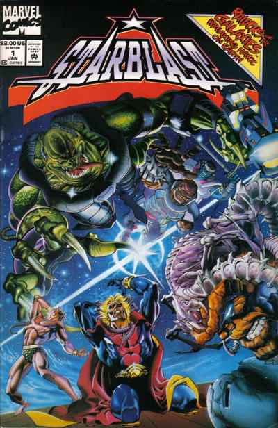 Starblast #1 comic books - cover scans photos Starblast #1 comic books - covers, picture gallery
