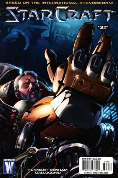 Starcraft #3 comic books - cover scans photos Starcraft #3 comic books - covers, picture gallery