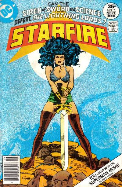 Starfire #7 comic books for sale