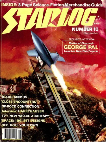 Starlog Magazine #10 comic books - cover scans photos Starlog Magazine #10 comic books - covers, picture gallery