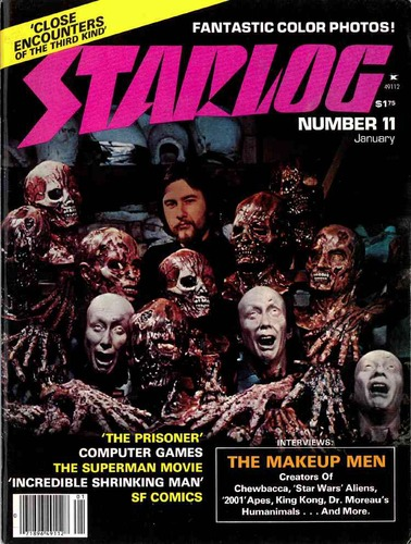 Starlog Magazine #11 comic books - cover scans photos Starlog Magazine #11 comic books - covers, picture gallery