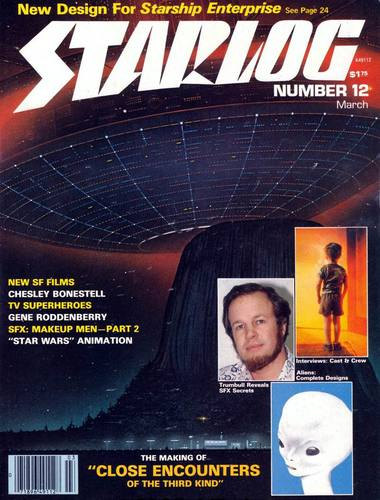 Starlog Magazine #12 comic books - cover scans photos Starlog Magazine #12 comic books - covers, picture gallery