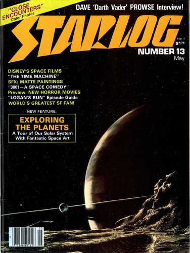 Starlog Magazine #13 comic books - cover scans photos Starlog Magazine #13 comic books - covers, picture gallery