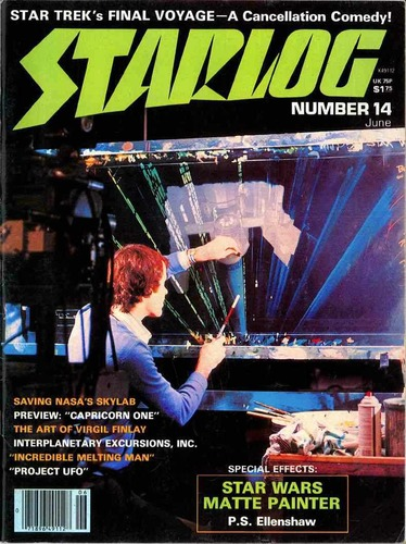 Starlog Magazine #14 comic books - cover scans photos Starlog Magazine #14 comic books - covers, picture gallery