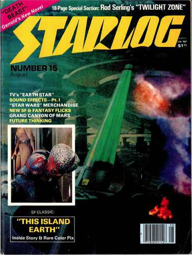 Starlog Magazine #15 Comic Books - Covers, Scans, Photos  in Starlog Magazine Comic Books - Covers, Scans, Gallery