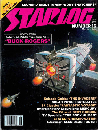 Starlog Magazine #16 comic books - cover scans photos Starlog Magazine #16 comic books - covers, picture gallery