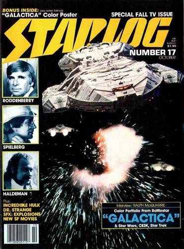 Starlog Magazine #17 comic books - cover scans photos Starlog Magazine #17 comic books - covers, picture gallery