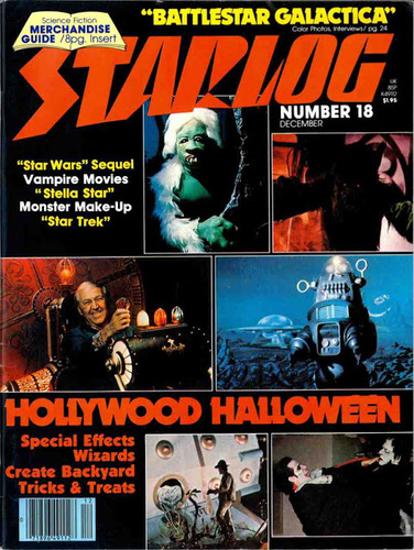 Starlog Magazine #18 comic books - cover scans photos Starlog Magazine #18 comic books - covers, picture gallery