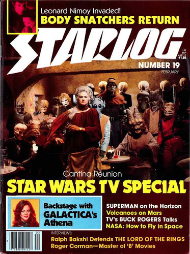 Starlog Magazine #19 comic books - cover scans photos Starlog Magazine #19 comic books - covers, picture gallery