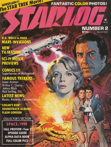 Starlog Magazine #2 comic books - cover scans photos Starlog Magazine #2 comic books - covers, picture gallery