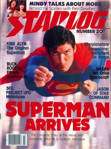Starlog Magazine #20 comic books - cover scans photos Starlog Magazine #20 comic books - covers, picture gallery