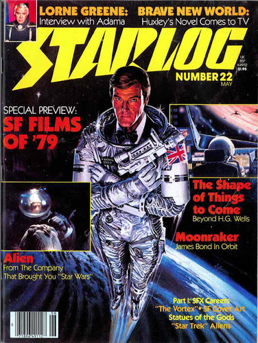 Starlog Magazine #22 comic books - cover scans photos Starlog Magazine #22 comic books - covers, picture gallery
