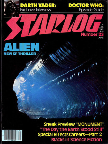 Starlog Magazine #23 comic books - cover scans photos Starlog Magazine #23 comic books - covers, picture gallery