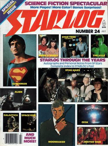 Starlog Magazine #24 comic books - cover scans photos Starlog Magazine #24 comic books - covers, picture gallery