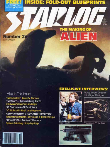 Starlog Magazine #26 comic books for sale