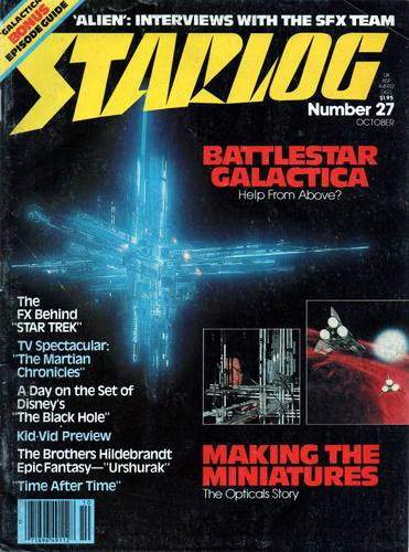 Starlog Magazine #27 comic books for sale