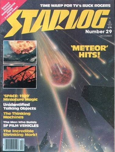 Starlog Magazine #29 comic books for sale