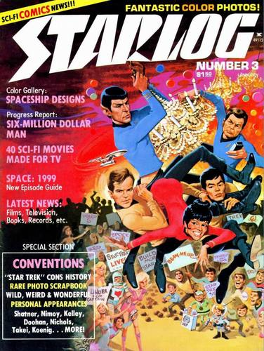 Starlog Magazine #3 comic books - cover scans photos Starlog Magazine #3 comic books - covers, picture gallery