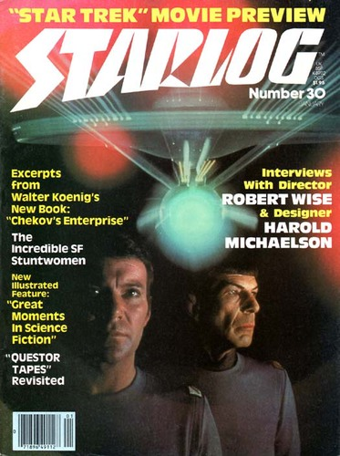 Starlog Magazine #30 comic books for sale