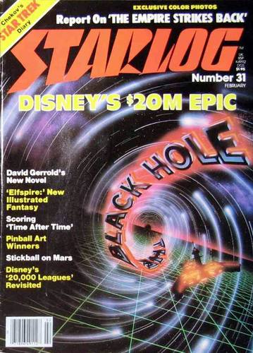 Starlog Magazine #31 comic books for sale