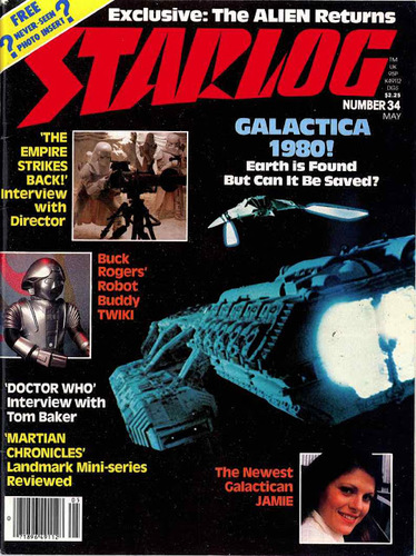 Starlog Magazine #34 comic books for sale