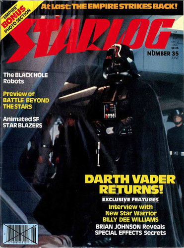 Starlog Magazine #35 comic books for sale