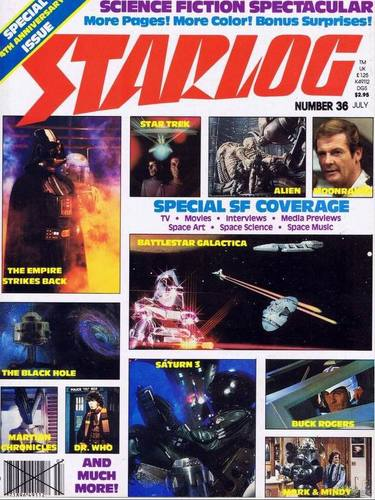 Starlog Magazine #36 comic books for sale