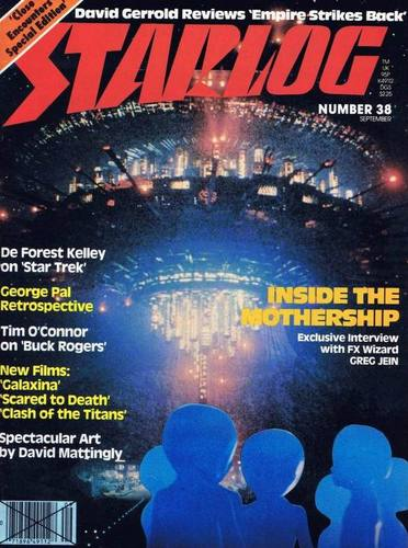 Starlog Magazine #38 comic books for sale