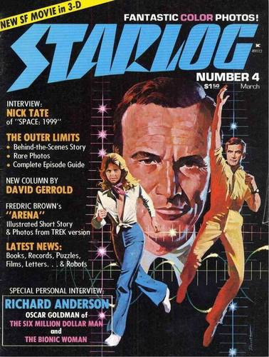Starlog Magazine #4 comic books - cover scans photos Starlog Magazine #4 comic books - covers, picture gallery