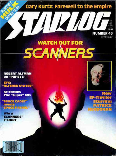 Starlog Magazine #43 comic books for sale
