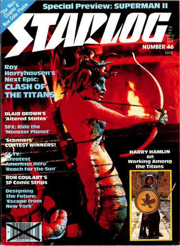 Starlog Magazine #46 comic books for sale