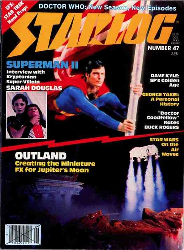 Starlog Magazine #47 comic books for sale
