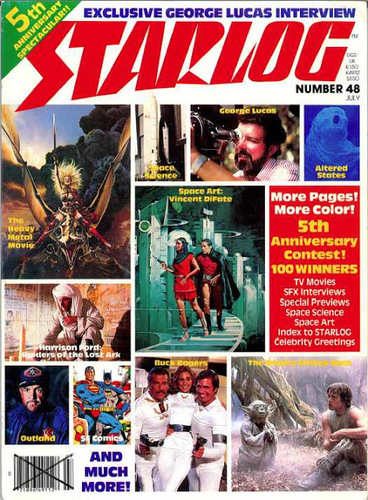 Starlog Magazine #48 comic books for sale