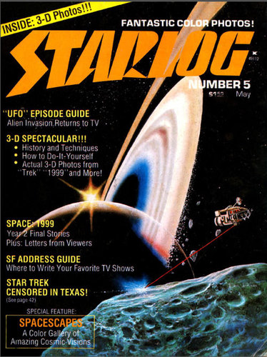 Starlog Magazine #5 comic books - cover scans photos Starlog Magazine #5 comic books - covers, picture gallery