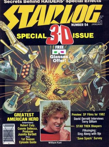 Starlog Magazine #54 comic books for sale