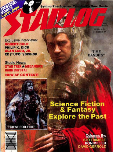 Starlog Magazine #55 comic books for sale