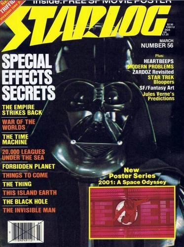 Starlog Magazine #56 comic books for sale