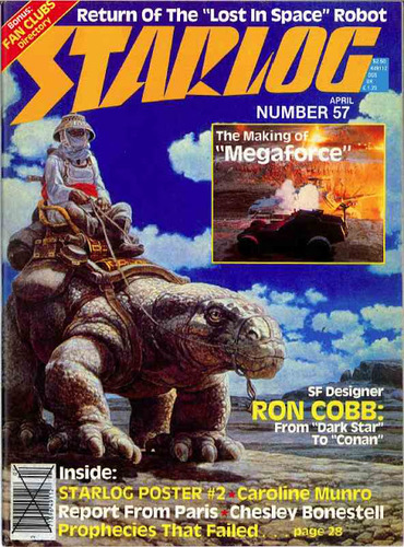 Starlog Magazine #57 comic books for sale