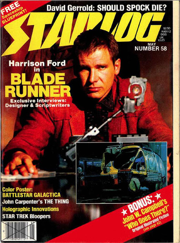 Starlog Magazine #58 comic books for sale