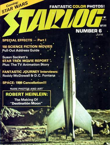 Starlog Magazine #6 comic books - cover scans photos Starlog Magazine #6 comic books - covers, picture gallery