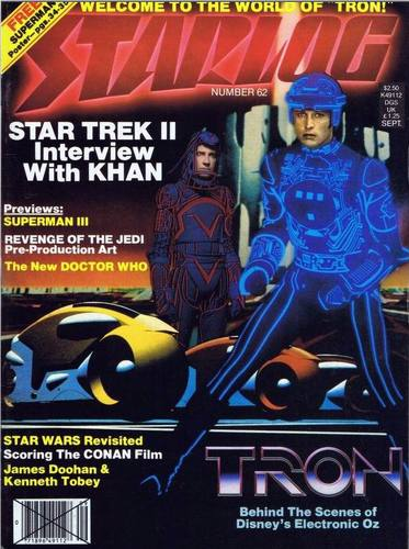 Starlog Magazine #62 comic books for sale