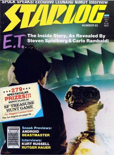 Starlog Magazine #63 comic books for sale