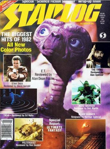 Starlog Magazine #64 comic books for sale