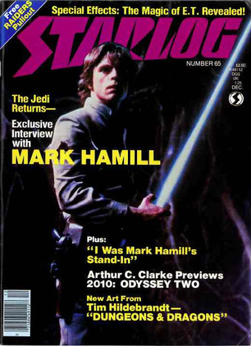 Starlog Magazine #65 comic books for sale